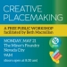 Creative Placemaking: A Free Public Workshop with Beth Macmillan