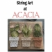 String Art! At Acacia Art Center