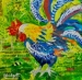 Year Of The Rooster Mixed Media Art Workshop With Eileen Blodgett