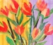 Spring Flowers! Mixed Media Workshop With Eileen Blodgett