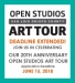 Call For Artists: 2018 Open Studios Art Tour Artist Application
