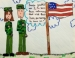 Student Artists Salute The Military
