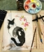 Chinese Brush Painting Lesson By Hilda Vandergriff: Cat With Blossoms