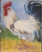 "Oil Painting Workshop With Susan Jenkins: Rooster On 16""x20"" Canvas"
