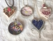 Mother's Day:  Mosaic Necklace Or Heart